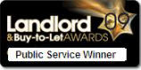 Landlord 'Buy-to-Let' awards 2009: Public Service Winner